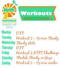 ssu2016 week 2 schedule