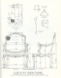 Image Shop Drawings Measured Drawing Of Rococo Chair From Salomonsky masterpieces Of Furniture Davidneat Wordpresscom Template Drawings For Furniture Modelmaking Davidneat