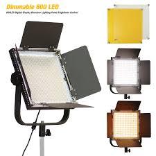 Photo Studio Lighting Kit Ebay Details About 600 Led Light Panel Kit Photography Video Studio Lighting Dimmer Mount Photo