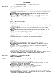 Resume Purchasing Purchasing Buyer Resume Samples Velvet Jobs