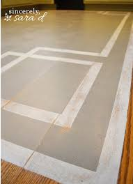 painting a rug on wooden floor rugs for wood floors