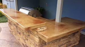 concrete countertop outdoor kitchens in sacramento ca with regard to maintenance decorations 41