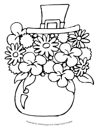 St Patricks Day Coloring St Patricks Day Coloring Pages St Patricks Day Stuff