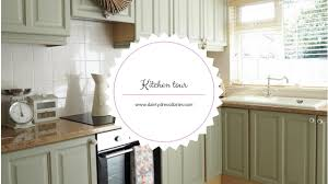 Small Picture Kitchen tour and how I painted my kitchen cabinets using chalk
