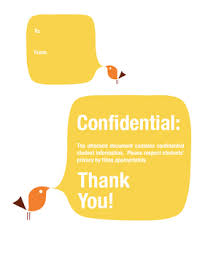 Confidential Cover Sheet By Pencils And Coffee Cups Tpt