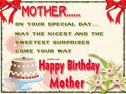 Mother Birthday Quotes Inspiration Happy Birthday Mom Quotes