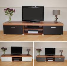 Large Tv Cabinets Details About 2 Metre Large 2 Door Tv Cabinet Plasma Bench Stand