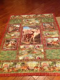 73 best Deer Quilt images on Pinterest | Wildlife quilts, Animal ... & Deer/hunting Quilt for our grandson, Holden Adamdwight.com
