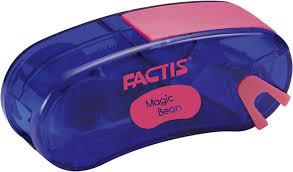 "<b>Точилка</b> ""<b>Factis</b>"" <b>Magic</b> Bean, с контейнером и стирательной ..."