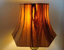 Red Gum wood lamp shade
