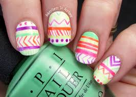 Nail Art Fail: OPI Neons Tribal! - Adventures In Acetone