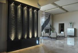 wall waterfall fountain indoor waterfall ideas with custom indoor water fountains