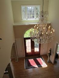 chandelier 2 story foyer fascinating foyer chandeliers foyer lighting flush mount crystal chandeliers with white candle images