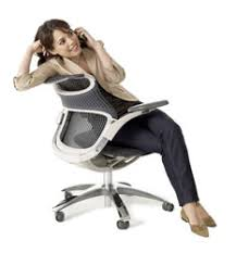 Brilliant Desk Chair For Back Pain Woman Reclining In Generation To Decor