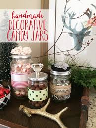 Decorating Candy Jars
