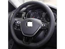 genuine leather steering wheel cover for 2016 volkswagen vw passat 2016 2016 volkswagen vw golf