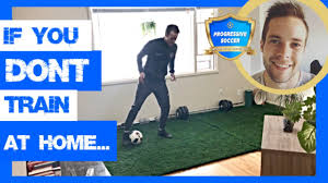 How To Do Soccer Drills At Home By Yourself - Why Team Practices & Games  Are Not Enough To Improve! - YouTube