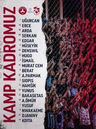 Son dakika spor haberi: Trabzonspor'un Giresunspor maçı kamp kadrosu  açıklandı - Fotomaç