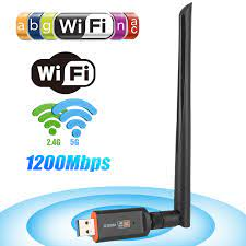 1200Mbps USB Wireless WiFi Adapter, Dual Band 2.4/5GHz Wireless Network  Adapter with 5dBi Antennas, USB 3.0 WiFi Dongle Support 802.11AC for PC  Laptop Computer Windows 10/ 8.1 /7 Mac 10.6/ 10.15 - Walmart.com -  Walmart.com
