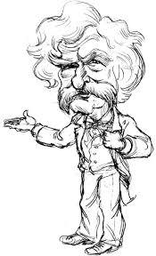 Mark Twain Coloring Sheets Yahoo Image