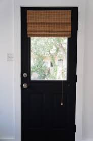 How To how to paint a door with a roller images : DIY: How I Painted 3 of My House Doors Matte Black