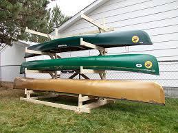 build outdoor kayak rack outdoor