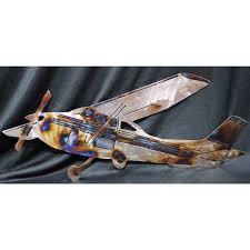 cessna metal wall art decor airplane