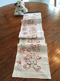 Embroidered Growth Chart Childs Growth Chart Embroidered Wall Measuring Chart With
