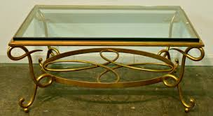 ... Coffee Table, Coffee Table Image Of Glass And Metal Coffee Table Glass  Coffee And Glass ...