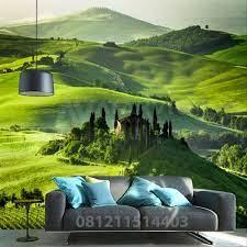 Wallpaper Dinding Pemandangan Alam 3d ...