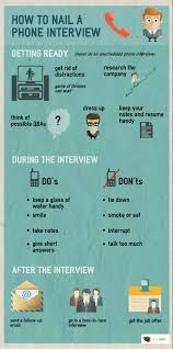 infographic how to nail a phone interview myrightfitjob com how to nail a phone interview