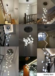 multi light pendant lighting. Fantastic Modern Led Crystal Pendant Lamp Multi Light Stairwell Lights Lighting