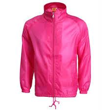 Light Pink Jacket Men Custom Neon Pink Color Jacket Men Light Weight Quality Windbreaker Nylon Jacket Coaches Jacket Buy High Quality Coach Jackets Custom Coach Jackets