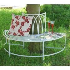 tree seats garden furniture. \u201cMaylock Manor\u201d Wrought Style Iron Tree Bench Seats Garden Furniture