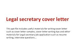 Cover Letter For A Legal Assistant Legal Assistant Cover Letter No