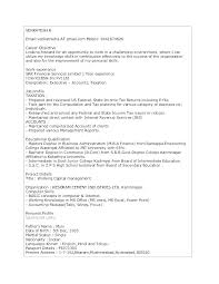Profile Example Resume Resume Career Profile Examples