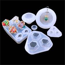QIAOQIAO DIY <b>1 Pcs DIY Pendant Liquid</b> Silicone Mold Resin ...