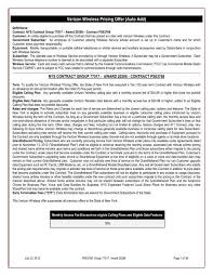 Verizon Wireless Early Termination Fee Chart Verizon Wireless Pricing Offer Office Of General Services