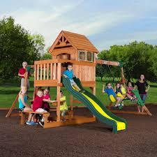 brilliant ideas of backyard discovery accessories cute backyard discovery springboro all cedar wood playset