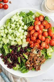 the best simple side salad recipe