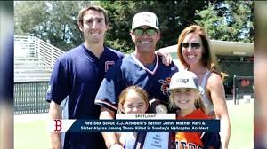Red Sox Mourn John Altobelli, Altobelli Family After Helicopter Crash -  video Dailymotion