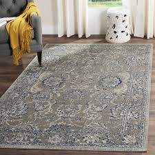 darby home co harwood cotton dark gray blue area rug reviews wayfair pertaining to rugs plans 11