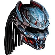 amazon com predator wolf 05 custom motorcycle helmet automotive