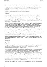 toefl writing topics and model essays 27 twe essays