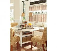 Pottery Barn Retro Kitchen Fresh Idea To Design Your Cafe Curtains Modern Retro Kitchen Cafe
