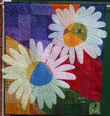 46 best Jane's Quilts images on Pinterest | Machine quilting, Etsy ... & Daisies quilted wall hanging by HandMadeQuiltsbyJane on Etsy Adamdwight.com
