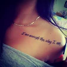 Quote Tattoos For Women Magnificent 48 Best Life Quotes Tattoo Pictures