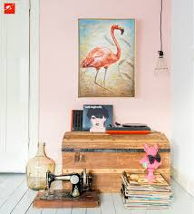 flamingo bird tropical animal oil painting on canvas print colourful modern wall poster art home decor