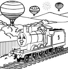 Thomas And Friends James Coloring Pages