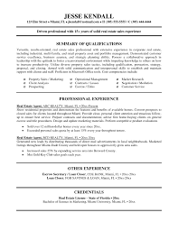Top Real Estate Resume Templates Samples District Attorney